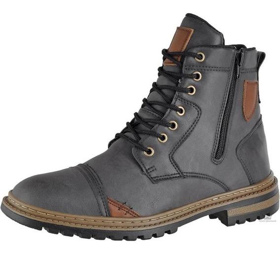 Bota Coturno Masculina Attative Boots
