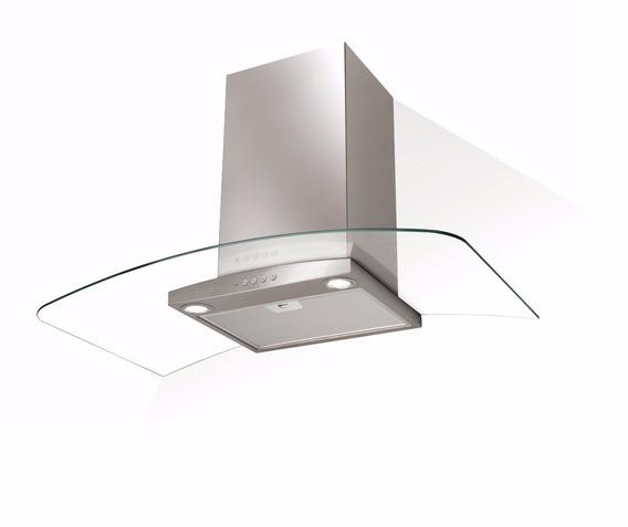 Campana Cocina Spar Ray 90cm Acero Vidrio Selectogar6