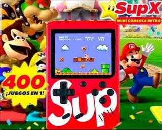 Mini Consola Portátil Game Box Sub 400 Videojuegos