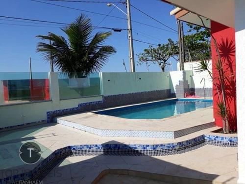 Casa Pé Na Areia Á Venda Em Itanhaém,são Paulo,bairro Cibratel Ii,sendo 4 Suítes, - Ca00509 - 68444584