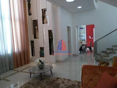 Sobrado Com 4 Dormitórios À Venda, 395 M² Por R$ 2.750.000,00 - Parque Residencial Nardini - Americana/sp - So0221