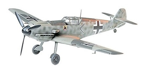 Modelos Tamiya Messerschmitt Bf109 E-3 Modelo Para Armar