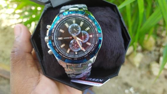 Relógio Importado E Original - Curren® 8077 Black