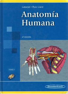 Anatomia Humana Latarjet Tomos 1 Y 2 4ta Edición + Cd Rom