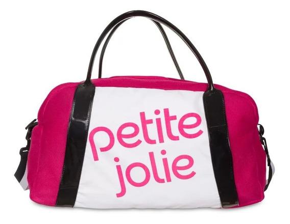 Bolsa De Viagem Marci Petite Jolie Pj4684 Rosa