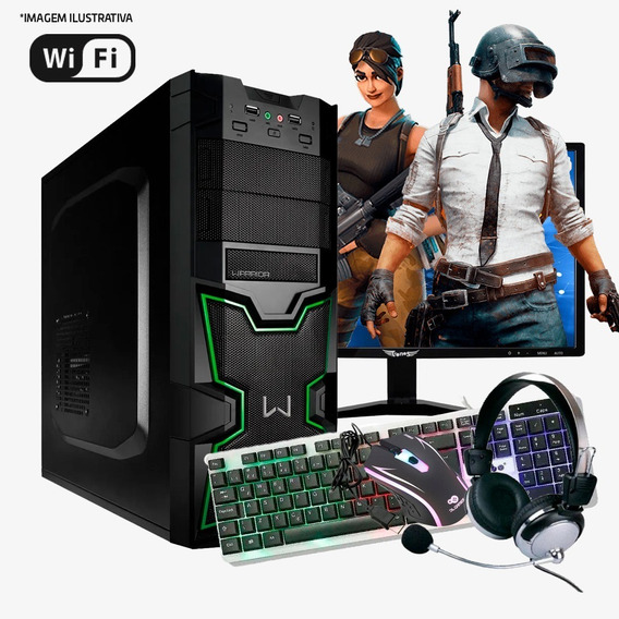 Pc Gamer I5 4ª, 16gb Ram Ddr3, Hd500gb, Gtx1650 4gb Completo