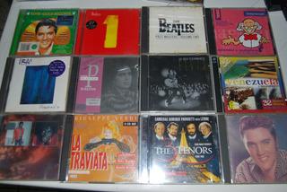 Discos Cd Musica Remate 2x1 Originales Varios Dobles Lote 1