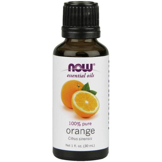 Now Aceite Esencial De Naranja, 30 Ml - Barulu