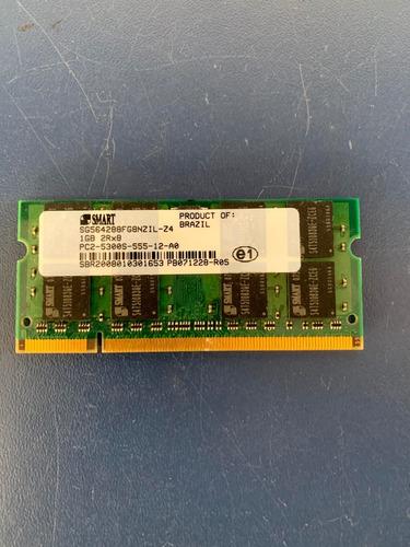 Memória Smart 1 Gb 2rx8 Pc2-5300s-555-12-a0