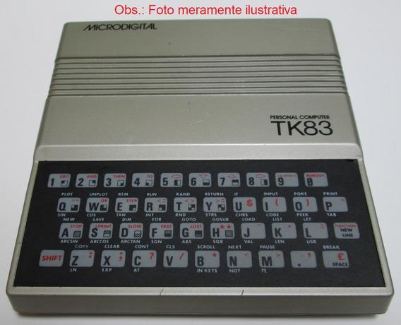 Placa Pci Pcb Montagem Tk83 Microdigital Z80 + Kit De Peças