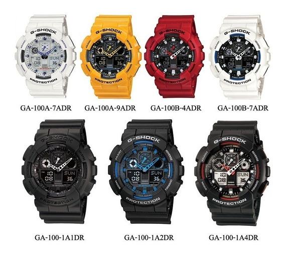Relógio Casio Masculino G-shok Ga100 1a1dr Original Barato