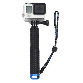 Alumínio Extensível Selfie Vara Monopé Para Gopro - Preto