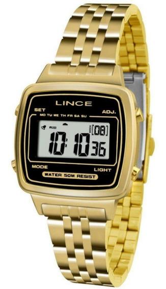 Relógio Feminino Lince Sdph040l Digital Quartz Casual