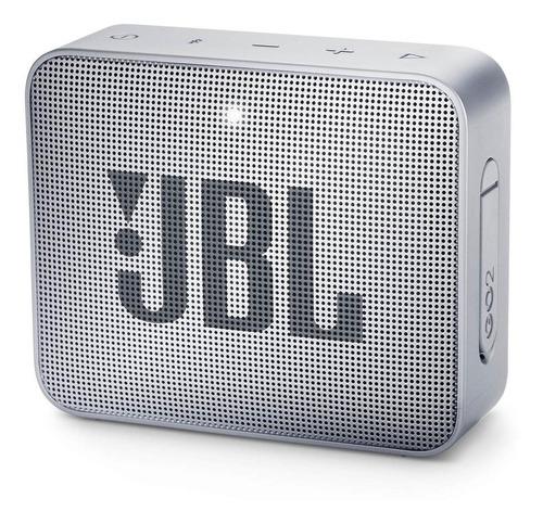 Imagen 1 de 4 de Bocina JBL Go 2 portátil con bluetooth ash gray 110V/220V