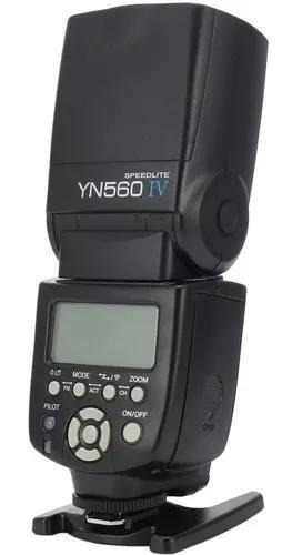 Flash Yongnuo Yn 560 Iv P/ Câmera Canon, Nikon E Sony