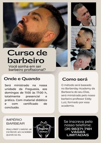 Imagem 1 de 1 de Curso De Barbeiro ( Técnica Barbeday Academy)