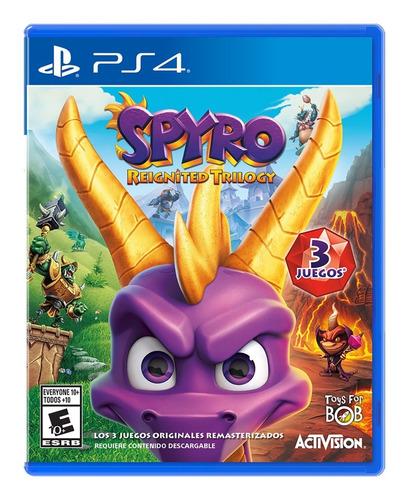 Spyro Reignited Trilogy - Ps4 Fisico Nuevo & Sellado