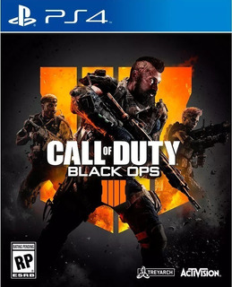 Call Of Duty: Black Ops 4 Ps4 Digital Principal Renta 6m