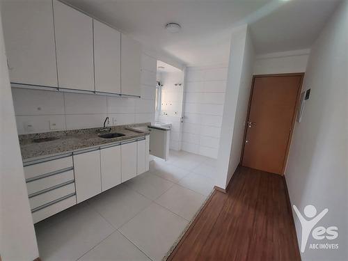 Imagem 1 de 20 de Ref.: 2454 - Apartamento Com 02 Dormitórios E 02 Vagas De Garagem - Santa Maria, Santo André - 2454