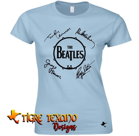 Playera Bandas The Beatles Mod. 09 By Tigre Texano Designs