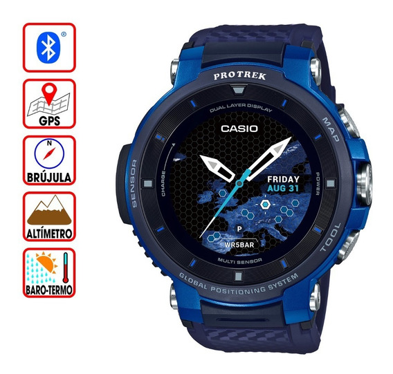 Reloj Casio Protrek Smart Watch Wsd-f30-bu