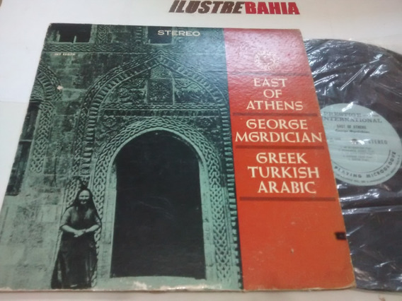 Lp East Of Athens George Mgrdician 1964 Arabic, Belly Dance