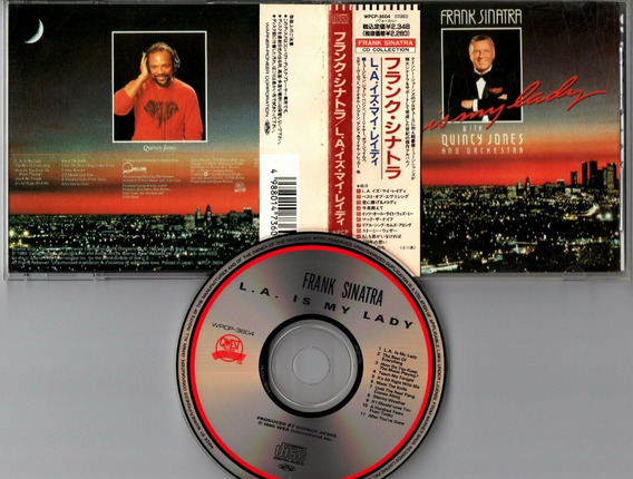 Frank Sinatra L.a. Is My Lady Cd Japones C/ Obi Impecable