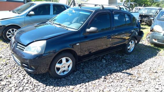 Sucata Renault Clio 1.0 16v 76cvs Flex 2006 Rs Cai Peças