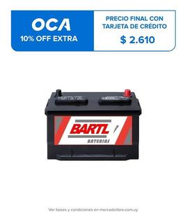 Bateria Bartl 100 Amper Garantía 12 Meses