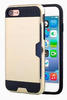 Capa iPhone 7 Plus Tpu Porta Cartão Anti-impacto