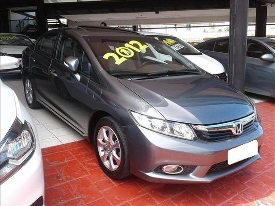 Honda Civic 1.8 Exs Cinza 16v Flex 4p Aut. 2012
