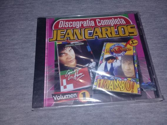 Jean Carlos Discografia Completa Vol. 1 Cd Nuevo Cerrado