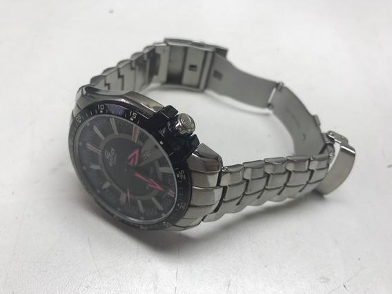 Relógio Casio Edifice Ef130d-1a4v Rosa Semi-novo Original