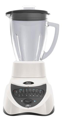 Licuadora Oster BLSTEG7806 1.25 L blanca con jarra de vidrio 220V