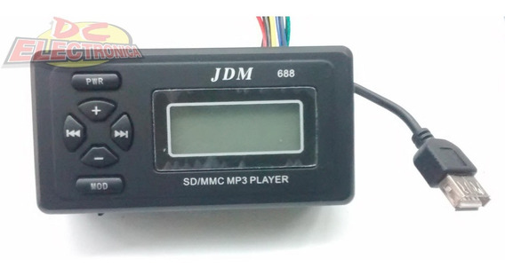Modulo Reproductor Amplificador 2x15w Usb/sd Mp3 Radio Am/fm