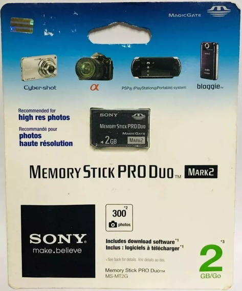 Memory Stick Pro Duo 2gb Mark2
