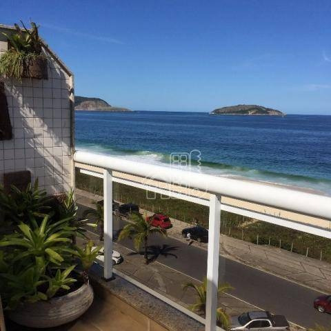 Cobertura Com 4 Dormitórios À Venda, 306 M² Por R$ 3.300.000,00 - Piratininga - Niterói/rj - Co0082