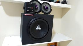 Caixa Jl Áudio 10w0 Modulo Stetsom E Par De Falntes Pioneer