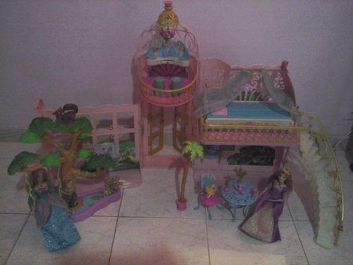 Imagen 1 de 9 de Castillo: Invernadero De Barbie, La Princesa De La Isla