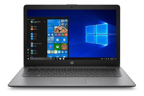 "Imagen 1 de 4 de Laptop HP Stream 14-CB174WM brilliant black 14"", Intel Celeron N4000  4GB de RAM 64GB SSD, Intel UHD Graphics 600 1366x768px Windows 10 Home"