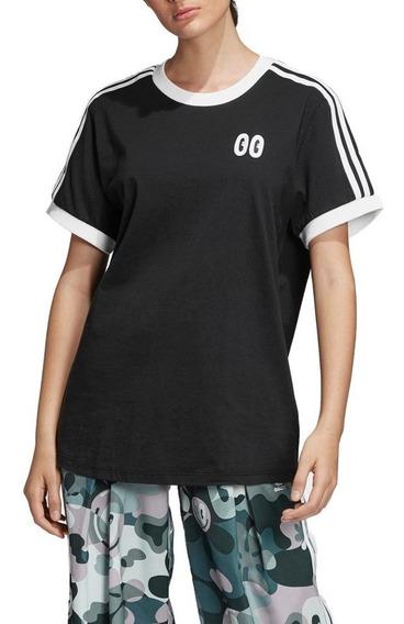 Remera adidas Originals 3 Stripes Tee Dv2664 Mujer Dv2664