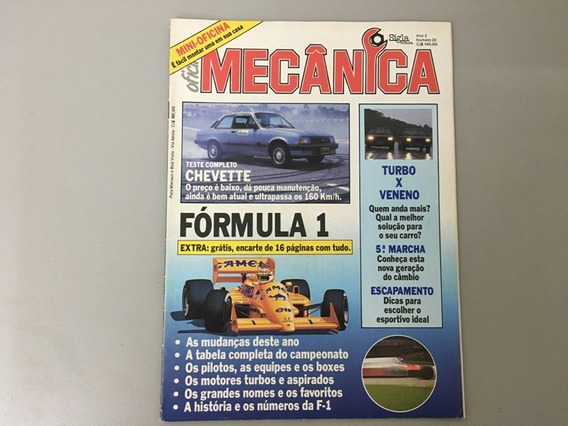 Revista Oficina Mecânica N.o 22 - Junho 1987