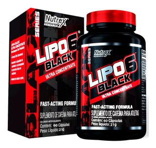 Lipo 6 Black Uc - 60 Cápsulas - Nutrex