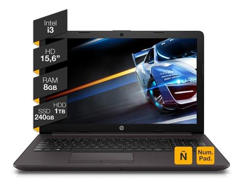 Imagen 1 de 4 de Notebook Hp 15p Intel I3 8gb Ram 240ssd 1tb Hdd Hdmi Win10
