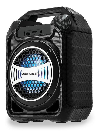 Caixa De Som Amplificadora Multilaser Sp313 - Bluetooth 30w