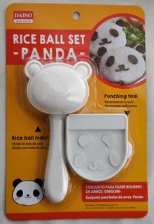 Forma Onigiri Panda Molde Bolinho Arroz