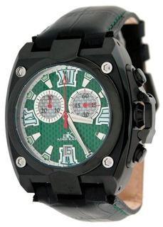 Reloj Cronografo Negro Ip Para Hombre Adee Kaye Con Esfera T