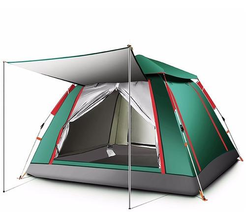 Imagem 1 de 7 de Barraca Camping Acampamento 4/5 Pessoas Grande Varanda