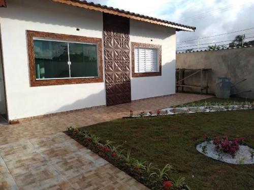Casa Na Praia Com 3 Quartos Em Itanhaém-sp 5462-pc