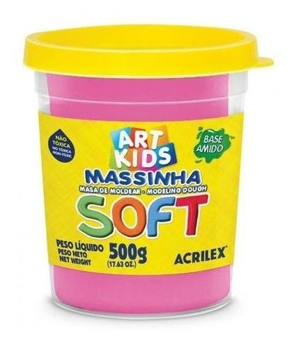 Massinha De Modelar Art Kids Soft 500g Maravilha Acrilex